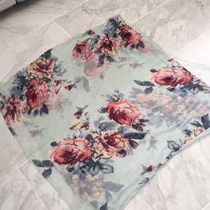 Stitchfix Floral Scarf
